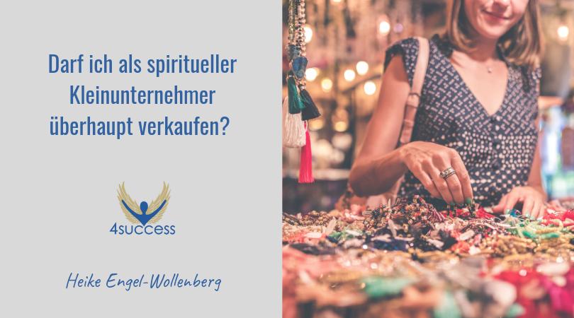 Darf ich als spiritueller Kleinunternehmer überhaupt verkaufen?